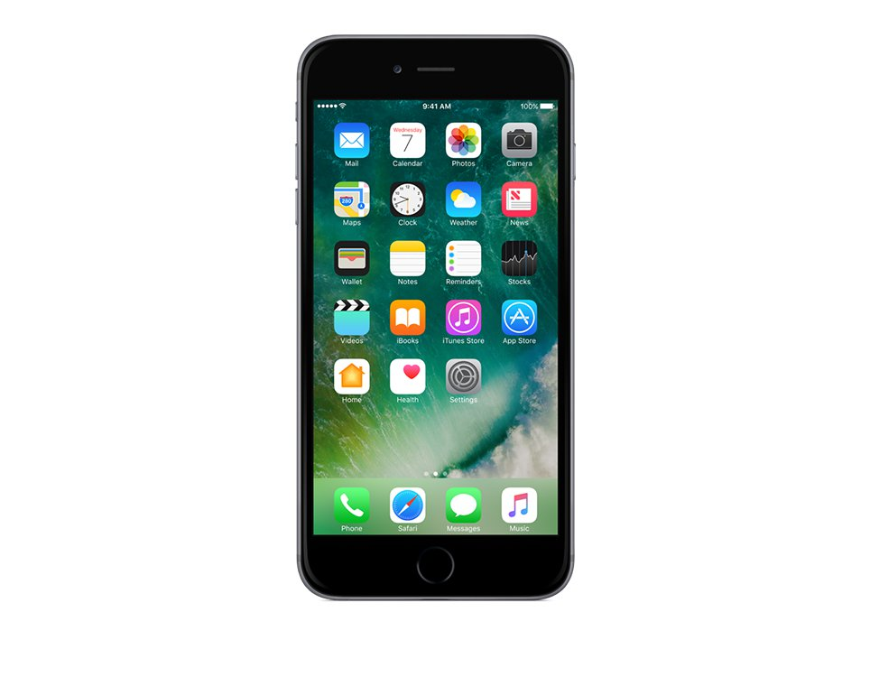 apple iphone 6s plus 128gb space gray. Black Bedroom Furniture Sets. Home Design Ideas